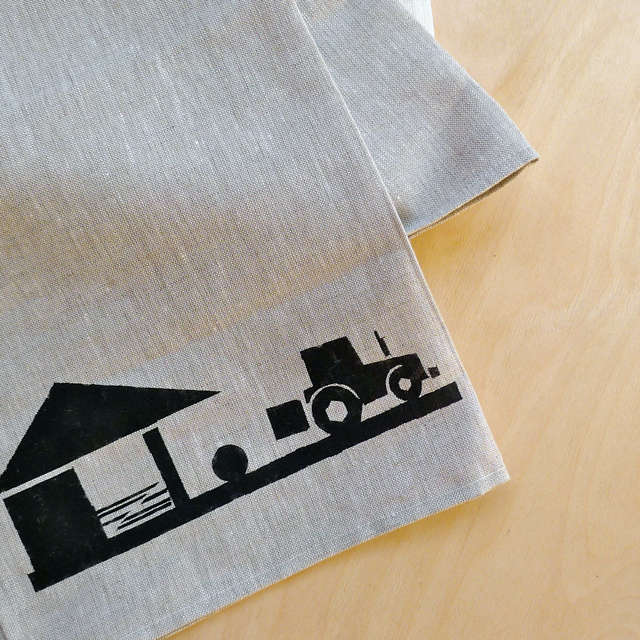 Farm to Table Graphic Linens from Ireland portrait 3