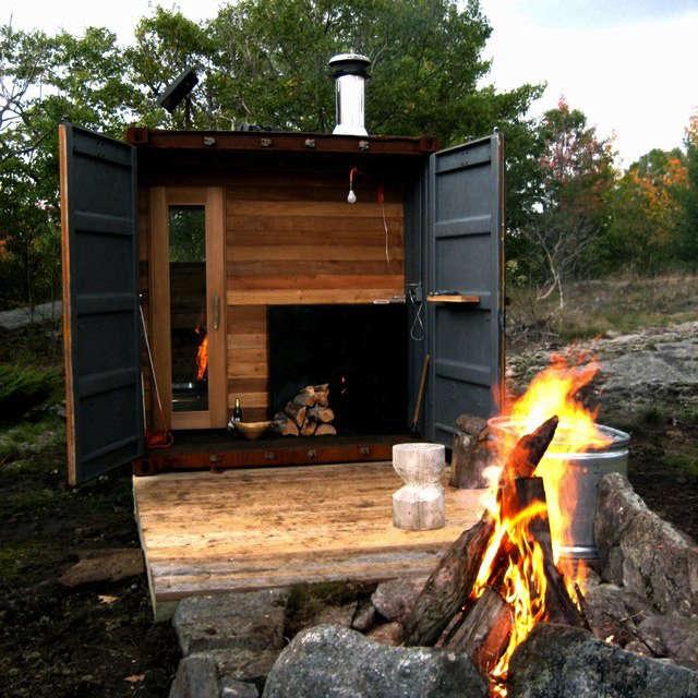 sauna in box 2