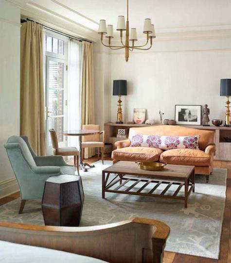 Greenwich  20  Hotel  20  Orange  20  Couch