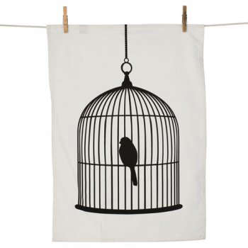 fmlv towel birdcage LRG
