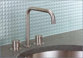 10 Easy Pieces Modern DeckMounted Bath Faucets portrait 2