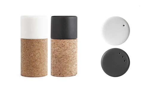 Kitchen Accessories Normann Copenhagen Salt and Pepper Shakers portrait 3