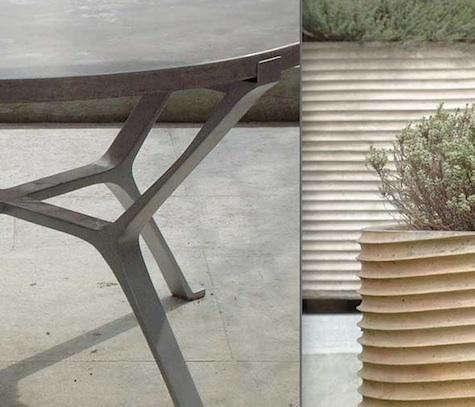 Bowles  20  Linares  20  Concrete  20  table  20  planter