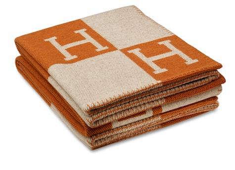 Orange  20  Hermes  20  Blanket
