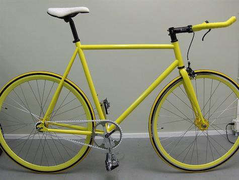 Yellow  20  Mission  20  Bicycle