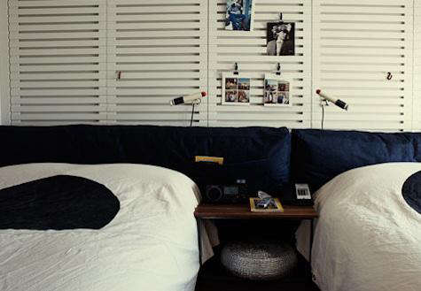ace  20  hotel  20  black  20  white  20  dot  20  bedspread  20  palm  20  springs