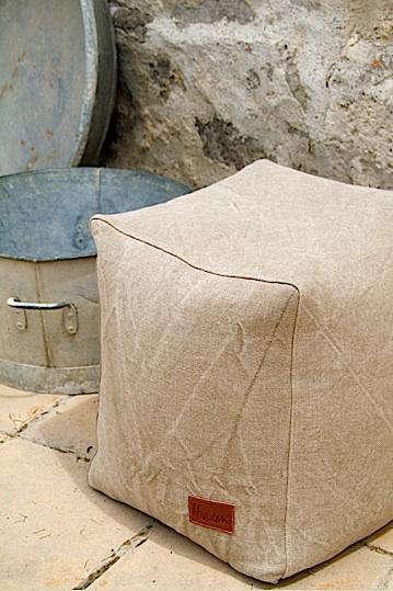 hidden  20  linen  20  pouf