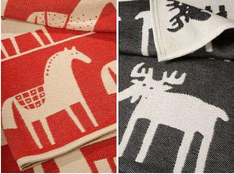Holiday Gifts Modern Swedish Christmas portrait 5