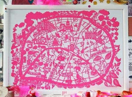 Paris  20  Map