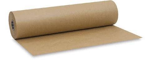 Kraft paper roll blick
