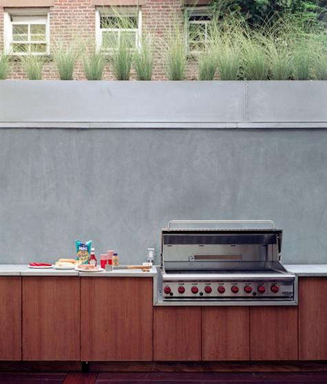 baird architect outdoor grill