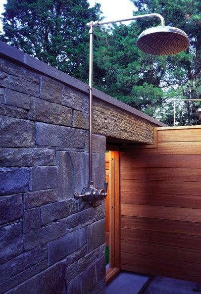 baird architect outdoor shower