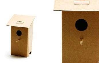 birdhouse  20  cardboard  20  22
