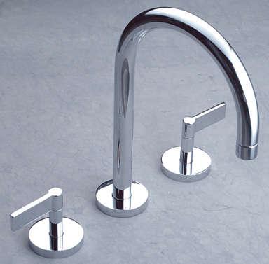 10 Easy Pieces Modern DeckMounted Bath Faucets portrait 3