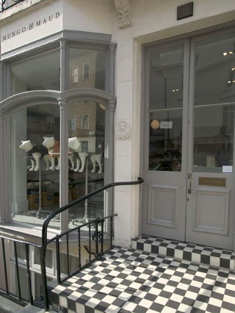 Exterior of Mungo & Maud in London