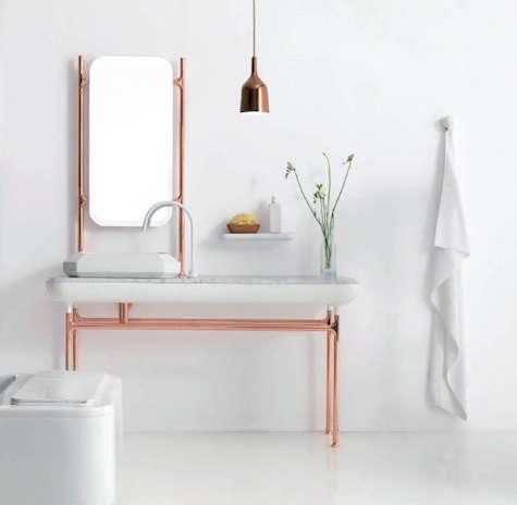 bisazza copper white bath