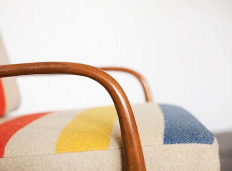 blanket chair 1 detail