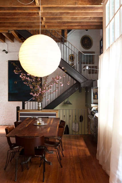 Architect Visit Diana Kellogg in NYC portrait 10