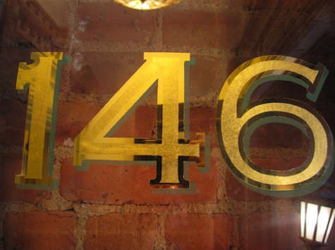 gilded house numbers2