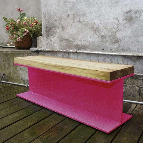 katch luckybeam bench outdoors
