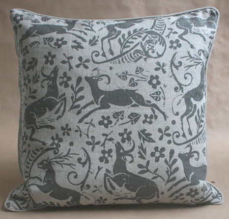 Fabrics  Linens Lindsay Alker Pillows at John Derian portrait 3