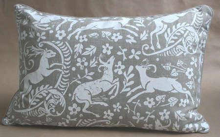 Fabrics  Linens Lindsay Alker Pillows at John Derian portrait 4