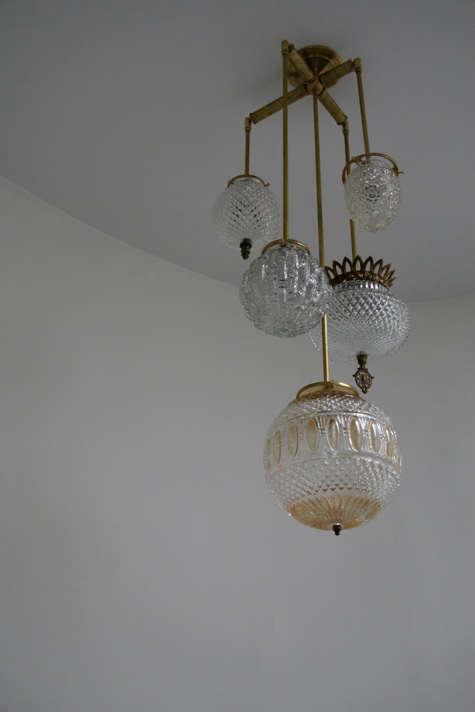 michelle james brass chandelier