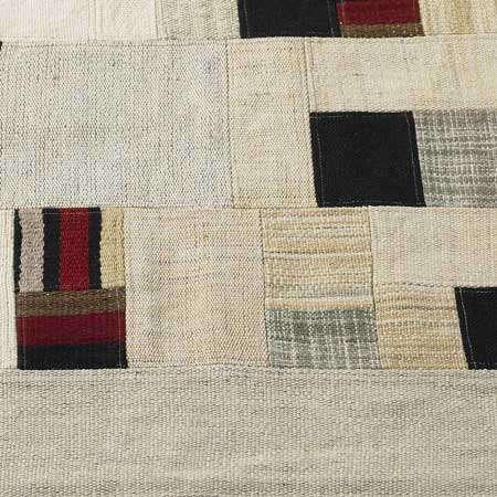 Walls Windows and Floors Patchwork Wool Rug portrait 4