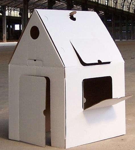 HOUSE  20  cardboard  20  playhouse
