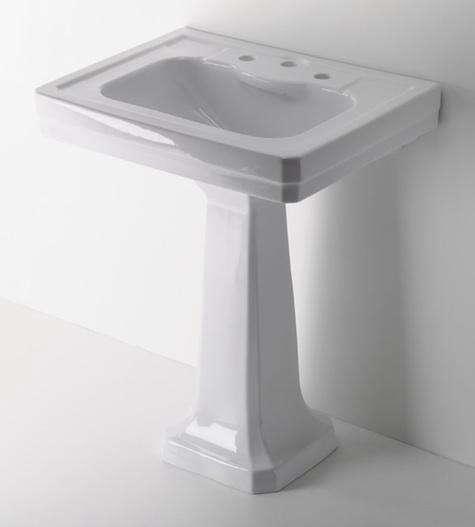 Waterworks exeter pedestal sink