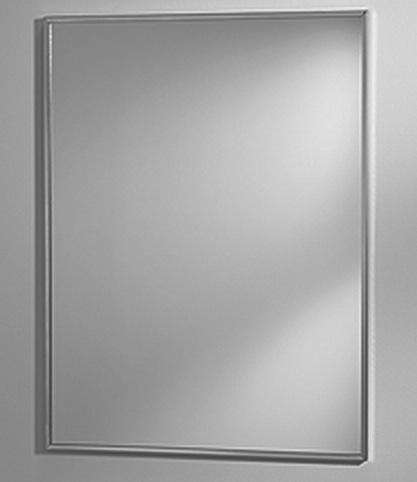 broan stainless wall mirror