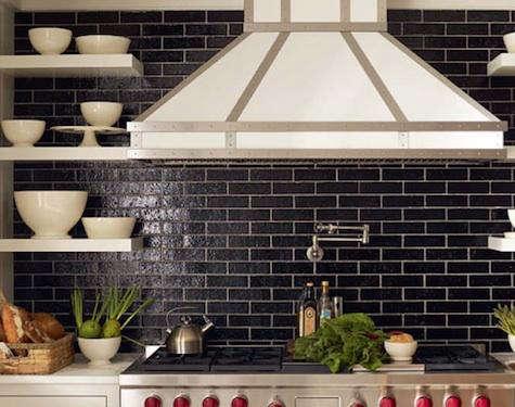 grove brickworks in kitchen