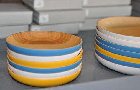 heath landscape plates