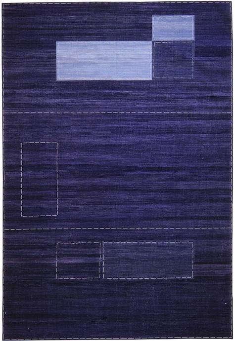 Walls Windows  Floors Denim Rugs by Madeline Weinrib Atelier portrait 4