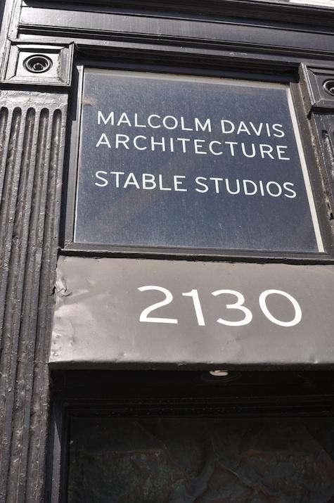 Architect Visit Malcolm Davis Architecture in San Francisco portrait 3
