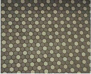 soho grand hex mosaic rosette