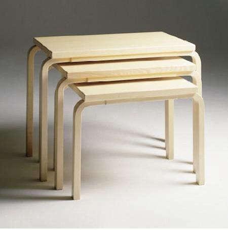 Furniture Aalto Nesting Tables  portrait 3