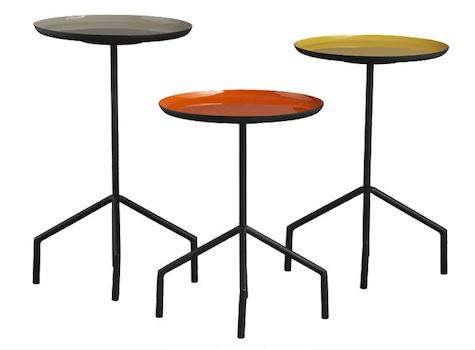 cb2 pablo side tables
