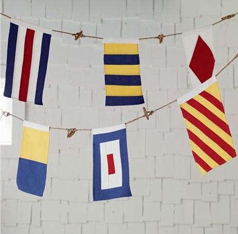 loand of nod nautical flag banner