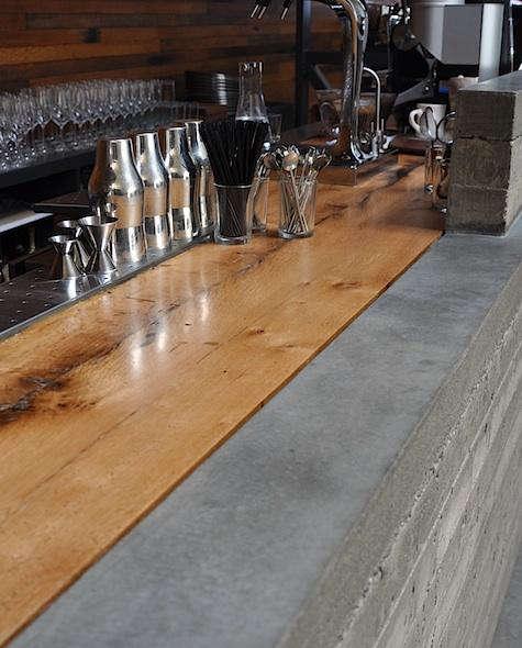 bar agricole bar top