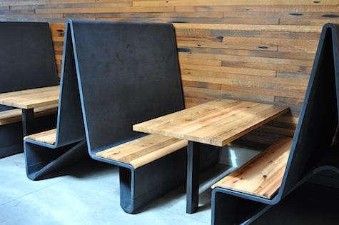 bar agricole custom booths