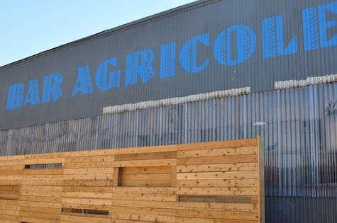bar agricole exterior corrugated