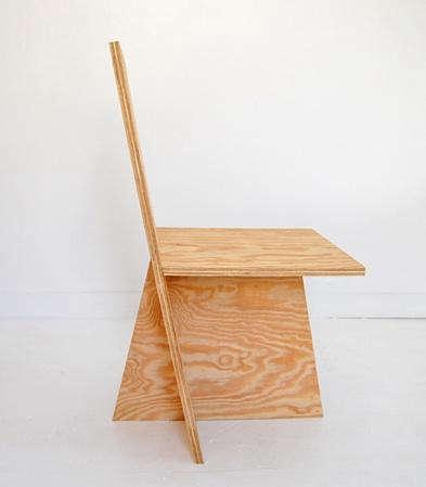 Rolu plus chair plywood