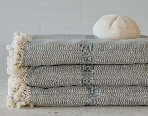 balineum syrie woven towels
