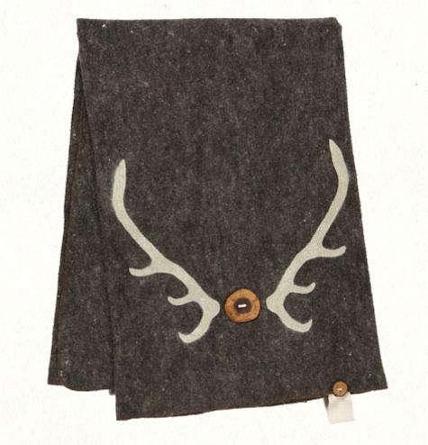 classic antler blanket