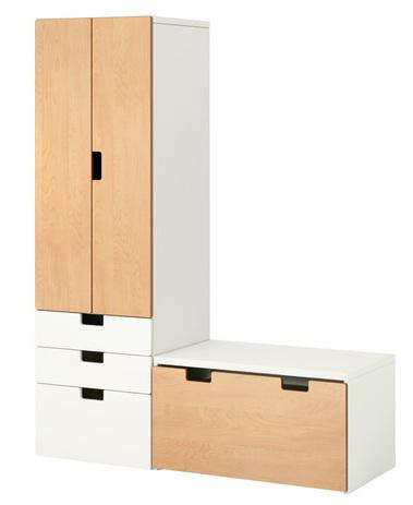stuva cabinet with bench