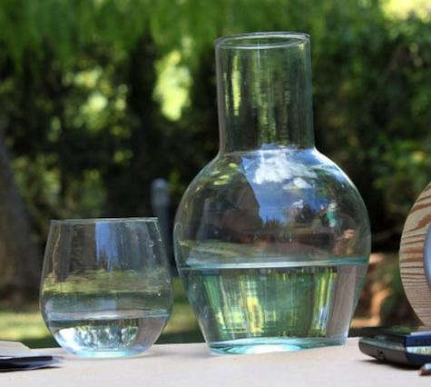 Tabletop Recycled Glassware from TryCycle portrait 3