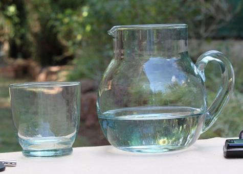 Tabletop Recycled Glassware from TryCycle portrait 5