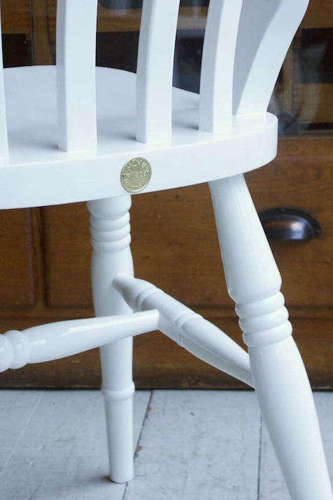 howe windsor chair white
