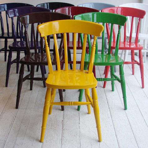 Furniture Painted Windsor Chairs from Howe in London portrait 3